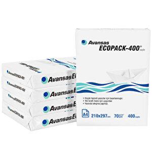 Avansas Ecopack-400 A4 70 gr 1 Koli (2000 Yaprak) Fotokopi Kağıdı