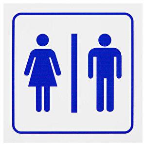 Bay & Bayan WC PVC Dekota Uyarı Levhası P2A-02126 buyuk 1