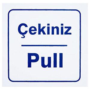 Çekiniz Pull PVC Dekota Uyarı Levhası P2A-02140 buyuk 1
