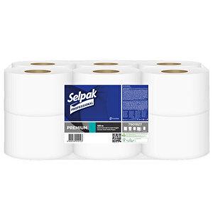 Selpak Professional İçten Çekmeli Tuvalet Kağıdı 120 m 12'li Paket buyuk 1