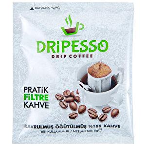 Dripesso Pratik Filtre Kahve 5'li Paket
