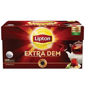 Lipton Extra Dem Demlik Poşet Çay 100'lü buyuk 1