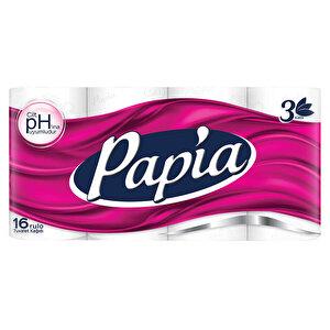 Papia Tuvalet Kağıdı 3 Katlı 16'lı Paket buyuk 1