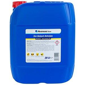 Avansas Clean Sıvı Bulaşık Deterjanı 20 kg