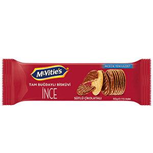 McVitie's İnce Tam Buğdaylı Sütlü Çikolatalı Bisküvi 93 gr buyuk 1