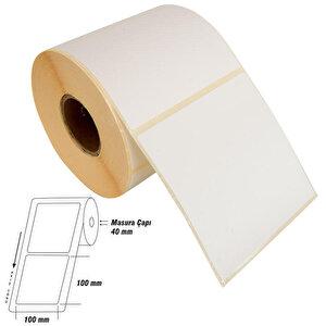 Tanex Eco Termal Barkod Etiketi 100 mm x 100 mm 2 Rulo buyuk 1