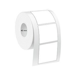 Tanex Eco Termal Barkod Etiketi 100 mm x 100 mm 2 Rulo