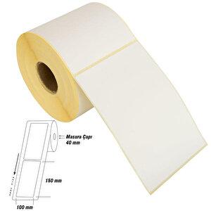 Tanex Eco Termal Barkod Etiketi 100 mm x 150 mm 2 Rulo buyuk 1
