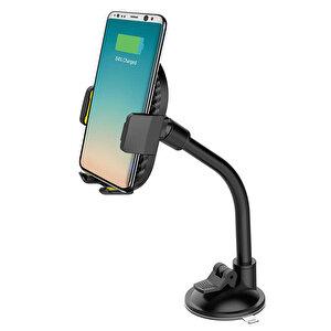 S-Link SL-ATW10 Universal Ayarlanabilir Kablosuz Şarjlı Araç Telefon Tutucu