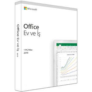 Microsoft Office T5D-03258 Ev ve İş Türkçe 2019 PC/Mac buyuk 1