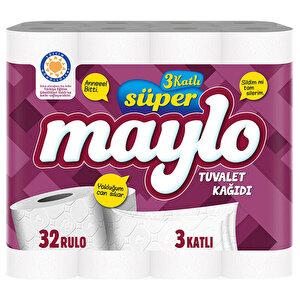 Maylo Tuvalet Kağıdı 3 Katlı 32'li Paket buyuk 1