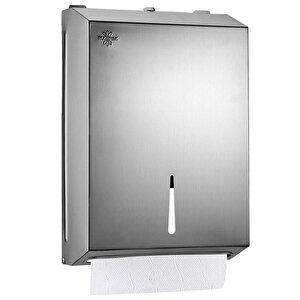 Rulopak R-1304 K4 Z Katlama Havlu Dispenseri Metal 400'lü buyuk 1