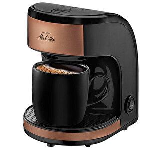 Goldmaster MC-100 My Coffee Filtre Kahve Makinesi Kupa Bardak Hediyeli buyuk 1