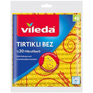 Vileda Tırtıklı Temizlik Bezi 4'lü Paket buyuk 1