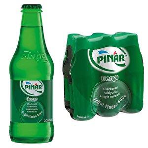 Pınar Doğal Maden Suyu Sade 200 ml 6'lı Paket