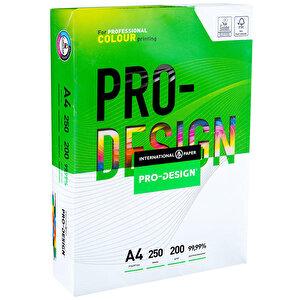 IP Pro Design A4 Beyaz Fotokopi Kağıdı 200 gr 1 Paket (250 sayfa) buyuk 1