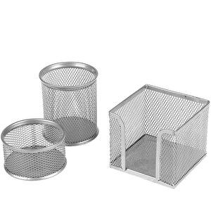 Avansas Masaüstü 3'lü Set Gümüş