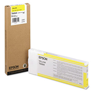 Epson T606400 Kartuş Sarı (Yellow) 220 ml buyuk 1