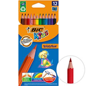 Bic Kids Evolution 82902910 Kuru Boya Kalemi 12'li Paket