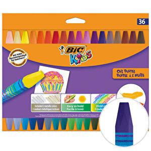 Bic Kids 964863 Yağlı Pastel Boya 36'lı Paket