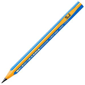 Bic Kids Evolution 919262 Üçgen Jumbo Kurşun Kalem Mavi 12'li Paket buyuk 3