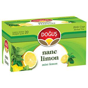 Doğuş Bitki Çayı Nane Limon 20'li Paket buyuk 1