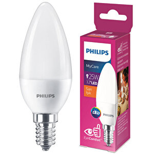 Philips LEDCandle 25 W 2700K Sarı Işık LED Ampul buyuk 1