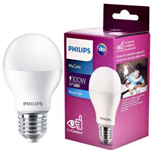 Philips LEDBulb 14-100 W 6500K Beyaz Işık LED Ampul buyuk 1