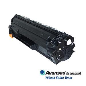 Avansas Econoprint HP 05A/80A Siyah Muadil Toner