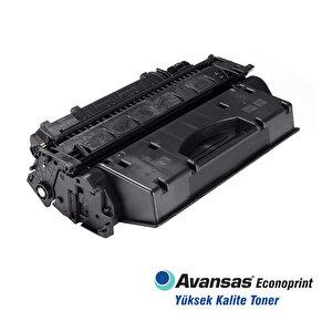 Avansas Econoprint HP 05X/80X Siyah Muadil Toner Çipli