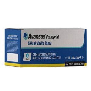 Avansas Econoprint HP 125A/128A/131A Mavi Muadil Toner