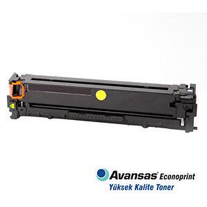 Avansas Econoprint HP 125A/128A/131A Sarı Muadil Toner