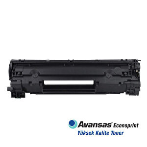 Avansas Econoprint HP 83X Siyah Muadil Toner Çipli CF283X