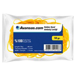 Avansas Paket Lastiği % 100 Kauçuk 50 gr buyuk 1
