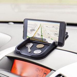Autoware Kaydırmaz Havuzlu Telefon Tutucu Siyah