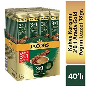 Jacobs 3'ü 1 Arada Yoğun Lezzet 18 gr 40'lı Paket buyuk 1