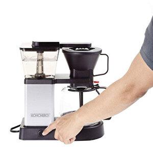 Konchero Preciso Alüminyum Filtre Kahve Makinesi buyuk 4