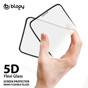Buff Blogy iPhone 7 Plus / 8 Plus Flexi 5D Ekran Koruyucu Beyaz buyuk 3
