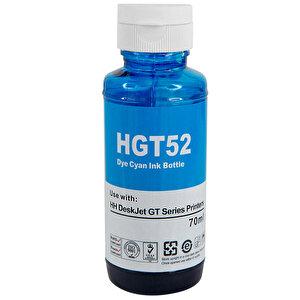 Printpen HP GT52XL Mavi (Cyan) Muadil Kartuş M0H54AE buyuk 1