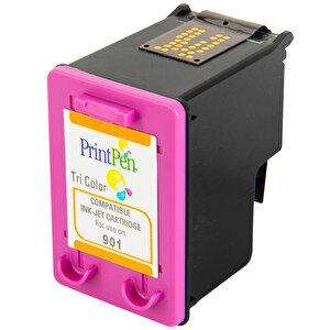 Printpen HP 901XL Renkli Muadil Kartuş CC656AE buyuk 2