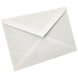 Asil Doğan Mektup Zarfı 110 gr 11.4 cm x 16.2 cm 100'lü Paket buyuk 1