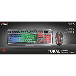 Trust 22895 Tural Combo Q Klavye Mouse Kablolu Set buyuk 7