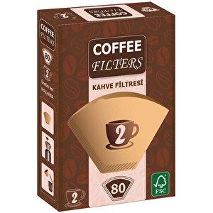 Coffee Filters Filtre Kahve Kağıdı 2 Numara 80'li buyuk 1