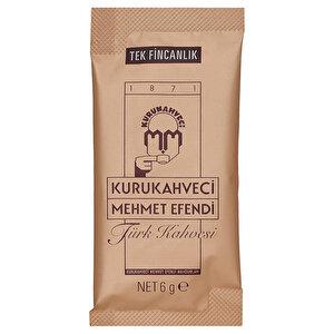 Kurukahveci Mehmet Efendi Türk Kahvesi 6 gr x 120'li Paket