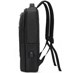 """Mack MCC-006 15.6"""" Office Notebook Sırt Çantası Siyah buyuk 3"""