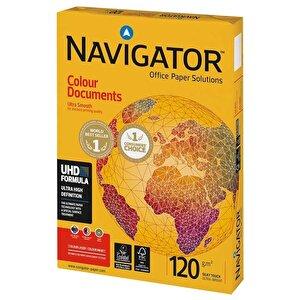 Navigator A4 Beyaz Fotokopi Kağıdı 120 gr 1 Paket (250 sayfa) buyuk 1