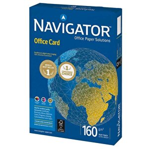 Navigator A4 Beyaz Fotokopi Kağıdı 160 gr 1 Paket (250 sayfa) buyuk 1