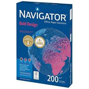 Navigator A4 Beyaz Fotokopi Kağıdı 200 gr 1 Paket (150 sayfa) buyuk 1