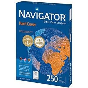 Navigator A4 Beyaz Fotokopi Kağıdı 250 gr 1 Paket (125 sayfa) buyuk 1