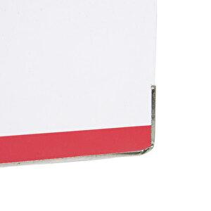 Avansas Colours Plastik Klasör Geniş A4 Beyaz Pembe buyuk 5